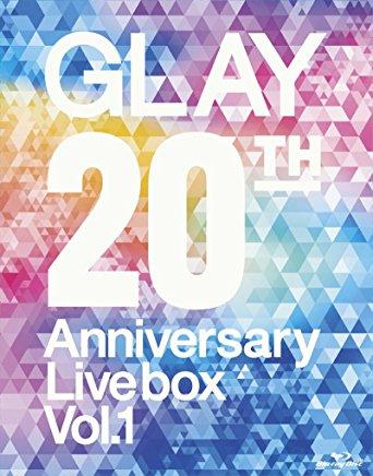 GLAY 20th Anniversary LIVE BOX VOL.1