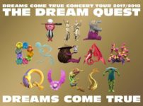 DREAMS COME TRUE CONCERT TOUR 2017/2018 -THE DREAM QUEST-